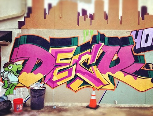 @deckwgf at WarHous | #graffiti #streetartistry #houstongraffiti #deck #instagramhtx
