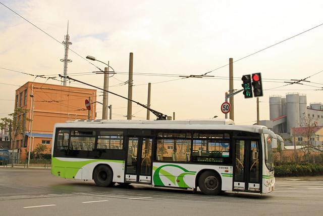 Shanghai Trolleybus No. 25 (H0A-037)
