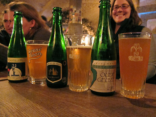 gueze tasting @ t'Potergast