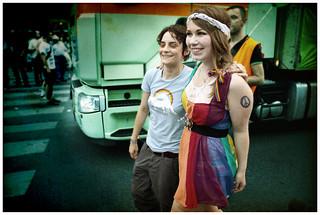 Regenbogenparade 2011