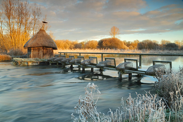Longstock Fishing Hut and Eel Traps, River Test [Explored]