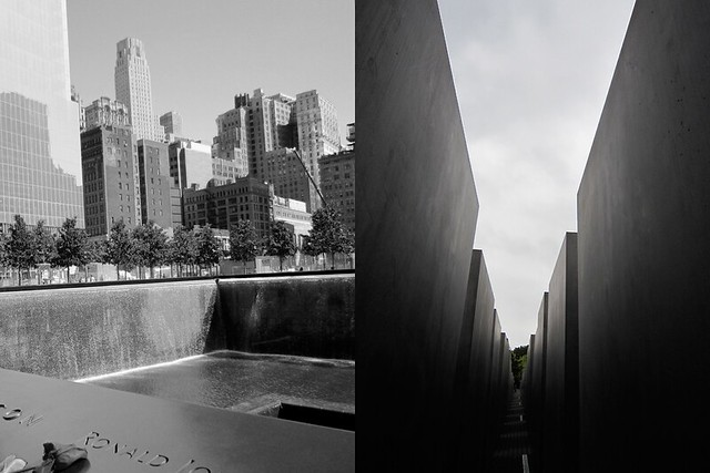 Berlin-and-NY-Memorials--bw
