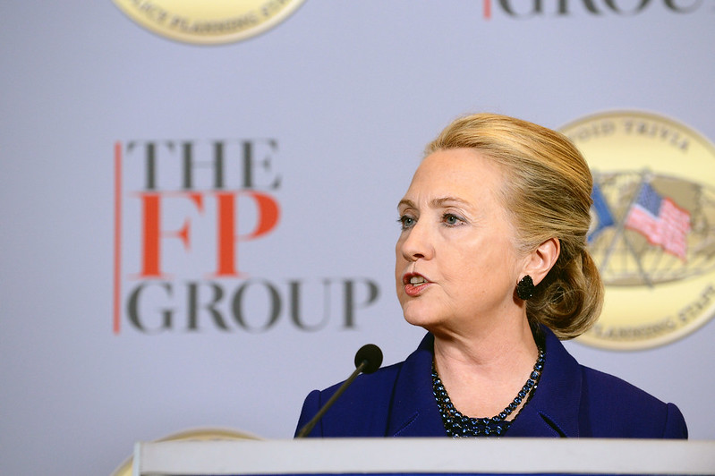 Secretary Clinton Delivers Remarks at Foreign Policy Group's Transformational Trends 2013