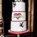 Gwenda's Rockabilly cake by The Sugared Saffron Cake Co.