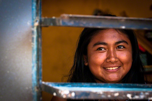 #5 Women faces | Behind the window | Mayan Colonies | Quintana Roo | Mexico