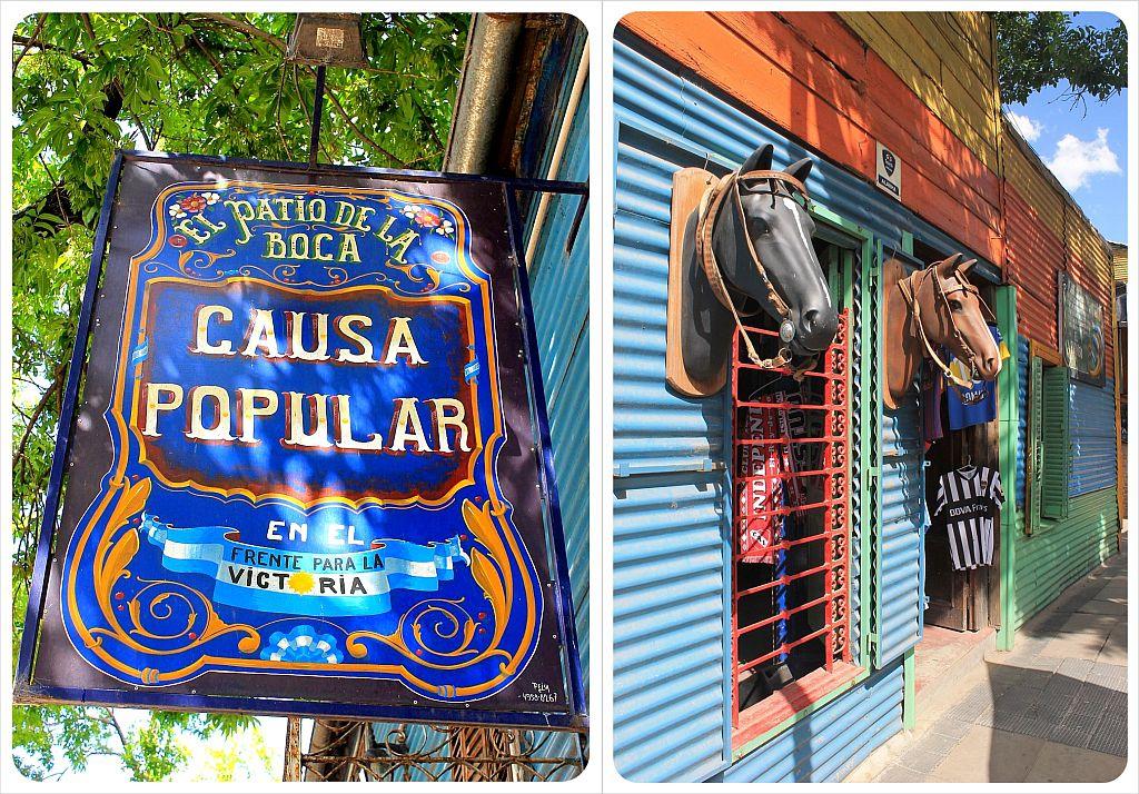 Buenos Aires El Caminito La Boca
