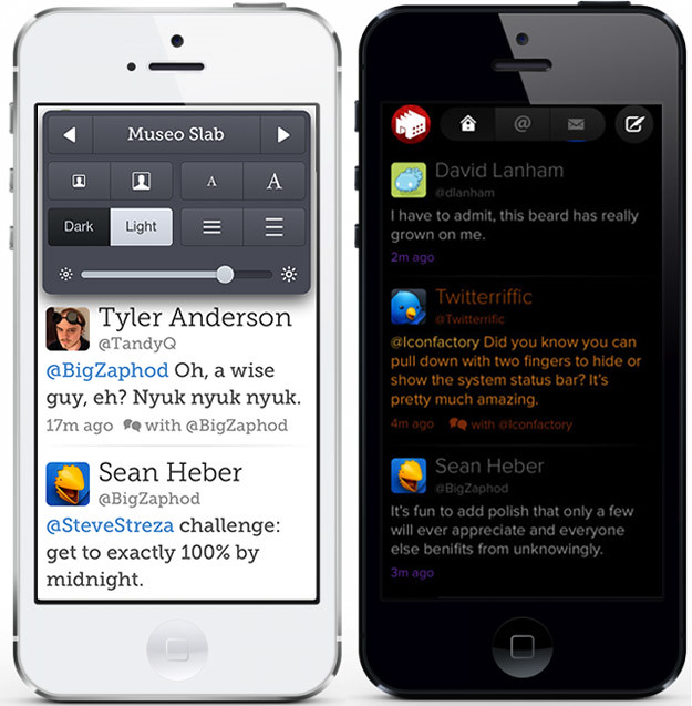 Twitterrific 5 para iPhone y iPad