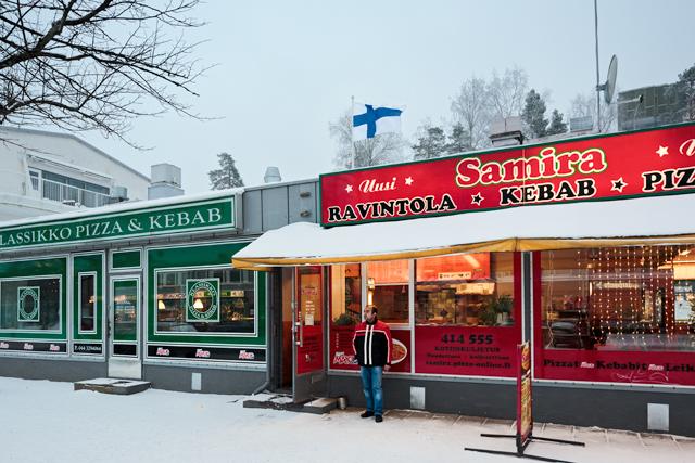 Uudenmaankatu, the pizza-kebab avenue of Hyvinkää