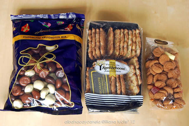 Dutch christmas sweets