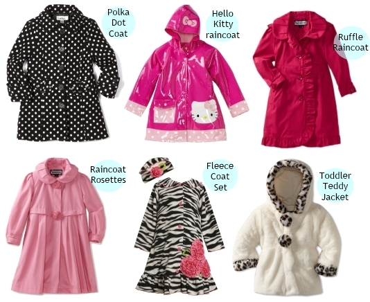 winter coats and raincoats for girls