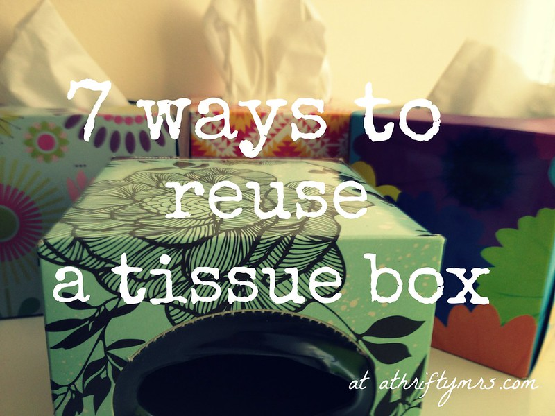 reuse a tissue box