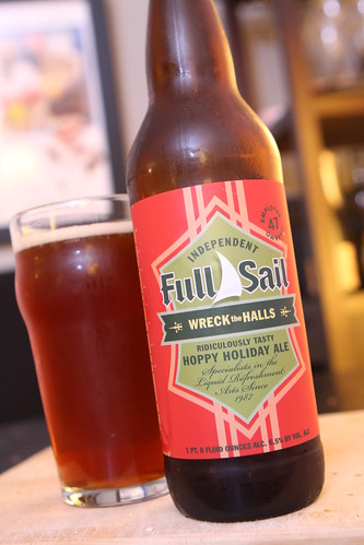 Full Sail Brewing Co. Wreck the Halls