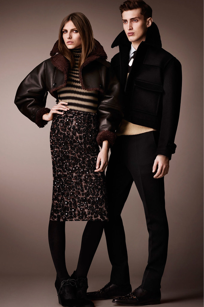 Charlie France0280_Burberry Prorsum's Pre-Fall 2013 Collection(Homme Model)