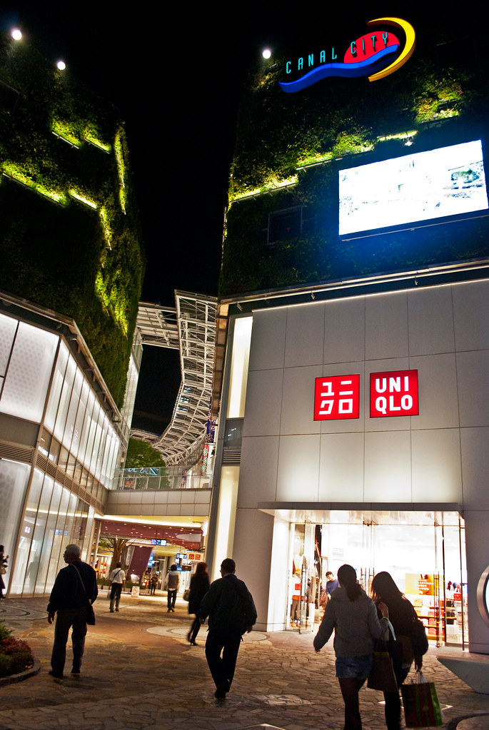 Canal City Uniqlo