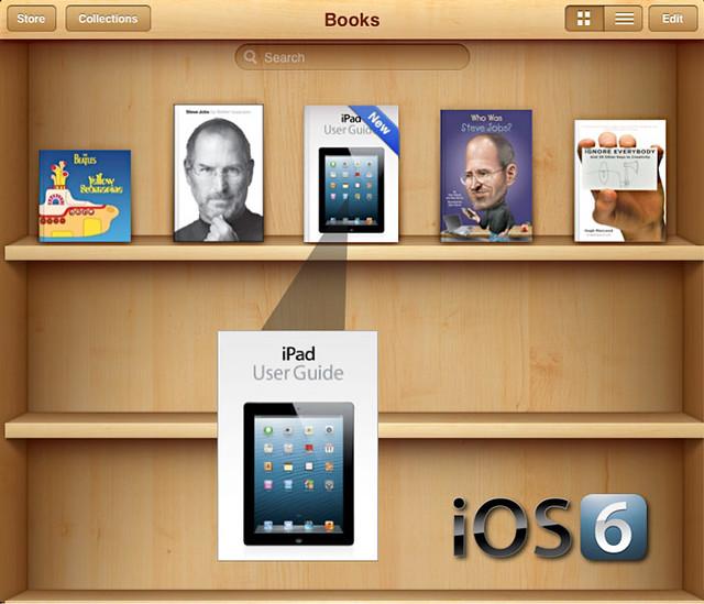 Free iPad iOS 6 User Guide
