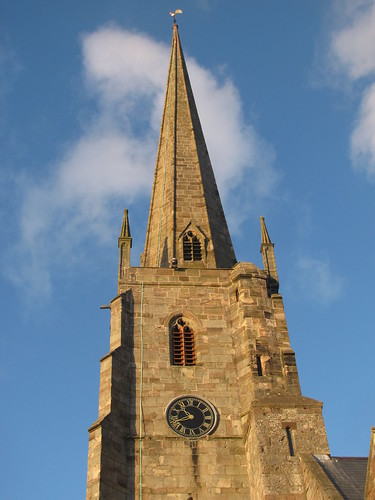 Spire and Sky
