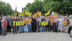 TWU SA Honourary Members Support DHL Workers in Turkey