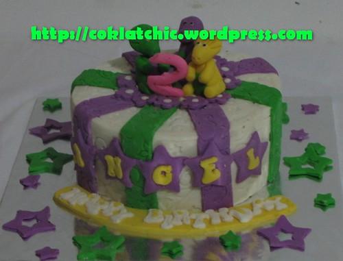 Imagechef Kue Ulang Tahun : Cake Barney   ANGEL Jual Kue Ulang Tahun