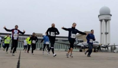 Štafetový maraton na letišti? Ale jistě!