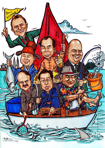 Group caricatures for Bosch 26022012