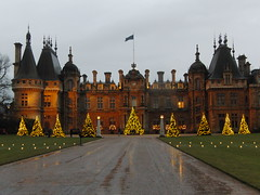 Christmas at Waddesdon Manor, also National Trust.