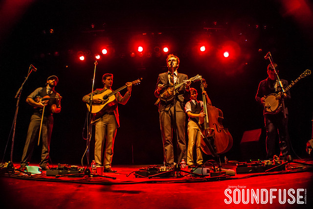 12.13.12 Punch Brothers at Vic Theatre in Chicago, IL
