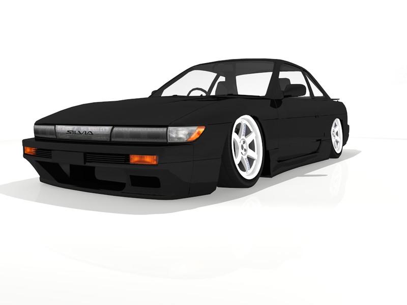 Nissan Silvia S13 Render 8286477192_6d838d0154_c