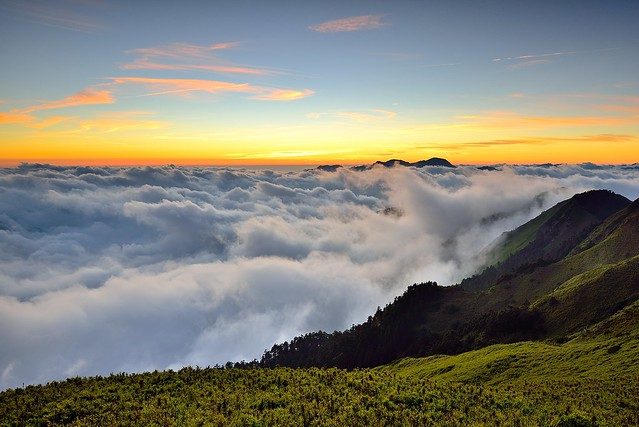 Sea of clouds, Mt. Hehuan 合歡山雲海