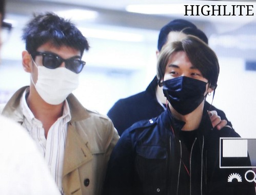 Big Bang - Gimpo Airport - 05jun2015 - Dae Sung - High Lite - 01