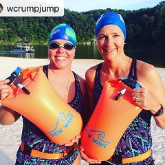 Where in the world is the New Wave Swim Buoy now? #Reposting @wcrumpjump with @instarepost_app -- Training in our lake is immensely safer now thanks to #NewWaveSwimBuoy. Next stop Savage Man. #lakelinganore #lovewhereilive @ Lake Linganore @ New Market MD