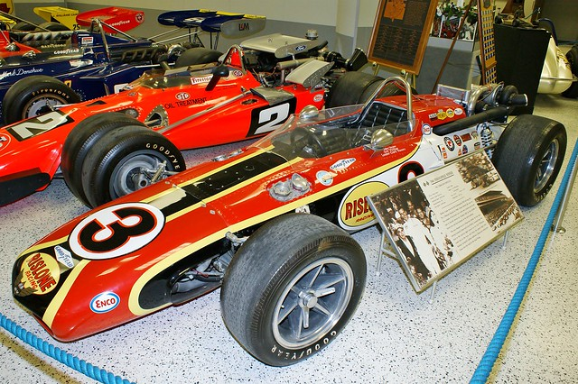 Leader Cards Rislone Special Eagle-Offenhauser, 1968 Indianapolis 500 Winner, Indianapolis Motor Speedway, Hall of Fame, 22nd May 2009