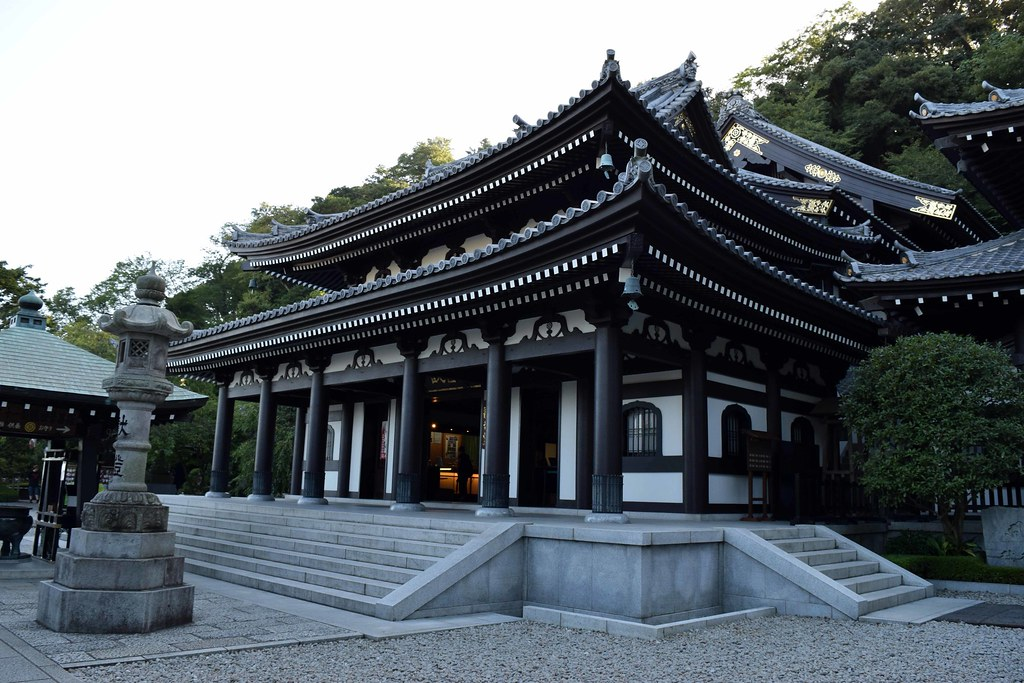 Beautiful Hasedera Temple in Karakuma