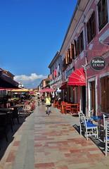 Bright sun and dark shadow--Shkoder, Albania