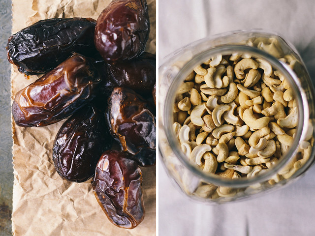 Dates and cashews