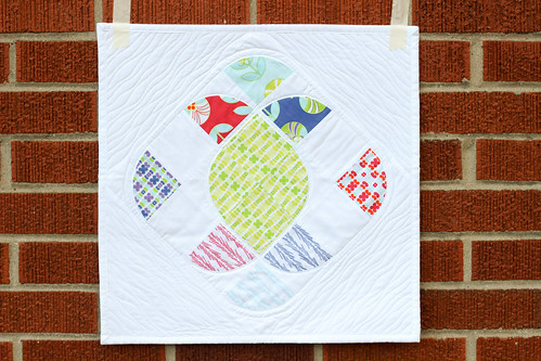 Ornate Color Me Retro Mini Quilt by Jeni Baker