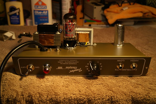 Fender® Forums • View topic - My Modded Champion 600 on