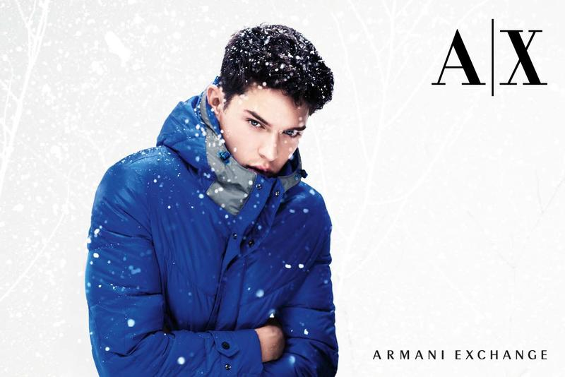 Cesar Casier0116_Armani Exchange Winter 2012