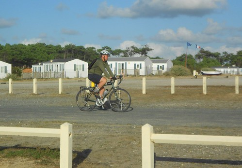 Cycling Near the Caravan Park