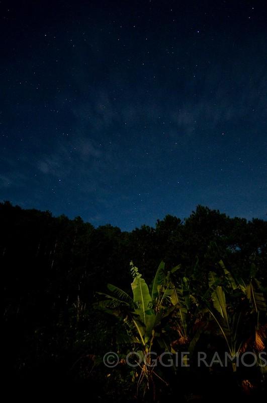Sagada - Yabami Veranda Night Sky