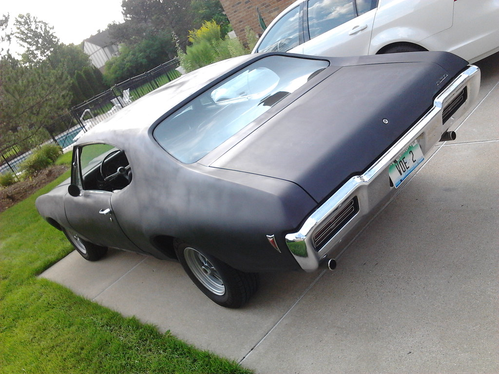 Update on my latest project - 68 GTO 8161866545_56195a3a9e_b