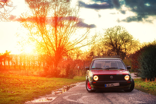 VW Golf 2 CL Ratte by Ronny Light Photography