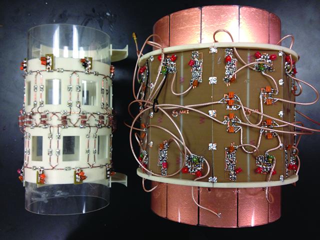 A 16-channel transceiver array designed for 7T MRI imaging