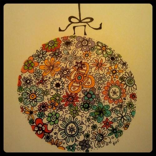 doodle ornament 3