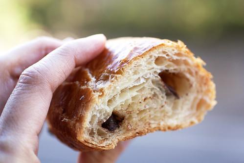 chocolate croissant @ croissanteria
