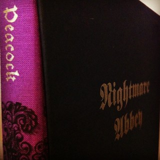 Folio edition of Peacock's Nightmare Abbey, one of my favourite novels
