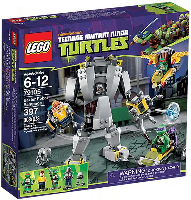LEGO Teenage Mutant Ninja Turtles 79105 - Baxter Robot Rampage