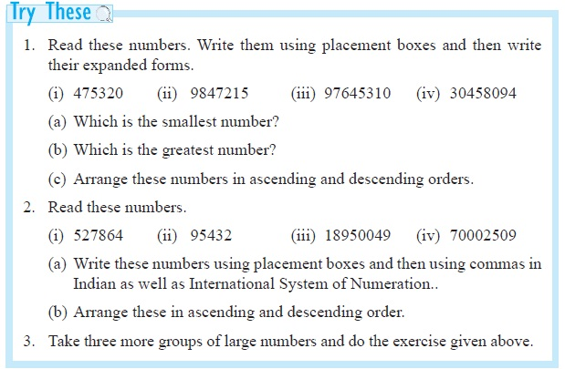 Ncert Class Vi Mathematics Chapter 1 Knowing Our Numbers Aglasem