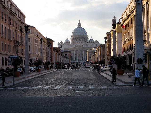 St Peters and Via Concilliazone