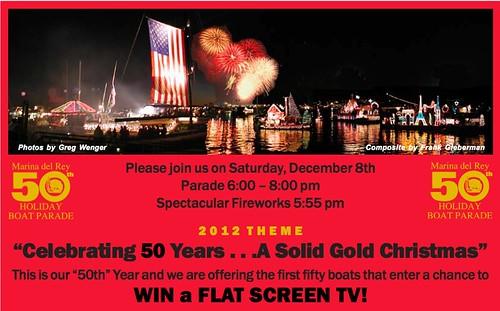 2012 Marina Del Rey Holiday Boat Parade
