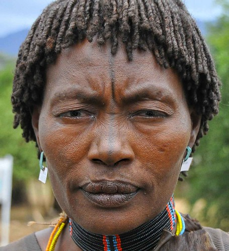 Tesemay Tribe, Ethiopia Beauty by Rod Waddington